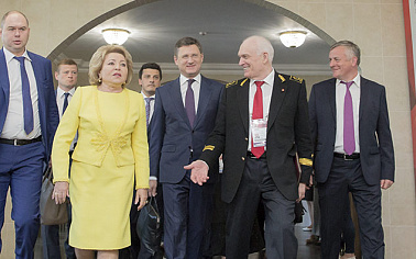 Russian senior ranks came to Saint-Petersburg to participate in the opening of The Future Leaders Forum