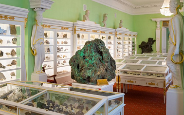 The World's Largest Piece of Ural Malachite Turned 245 Years Old