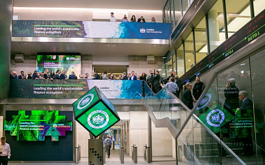 Green economy discussed at the London stock exchange sustainable finance & investment summit